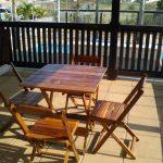 Mesas – Conjunto de Madeira